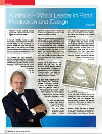 Australia – World Leader in Pearl Production & Design