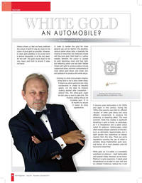 White Gold An Automobile?